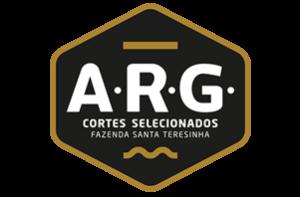 Logotipo do frigorífico ARG. Cortes selecionados.