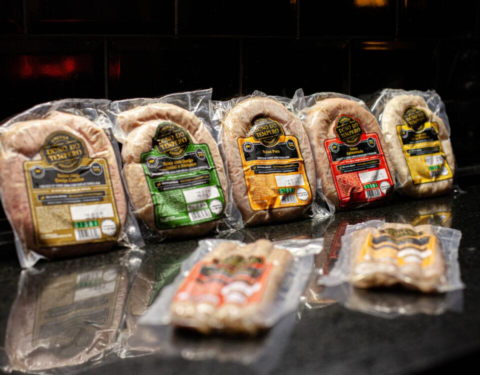 todos sabores de Linguiças Dono do Tempero distribuidos pela distribuidora nw royal